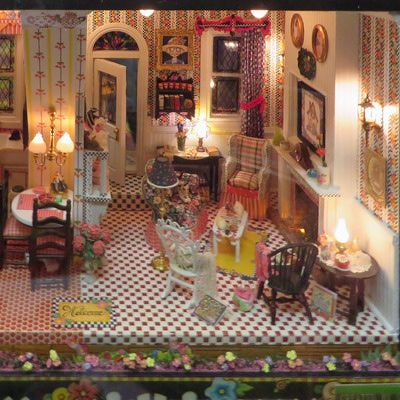 Find A Design For Your Dream Dollhouse Mary Engelbreit Pinterest Miniature Rooms Dolls