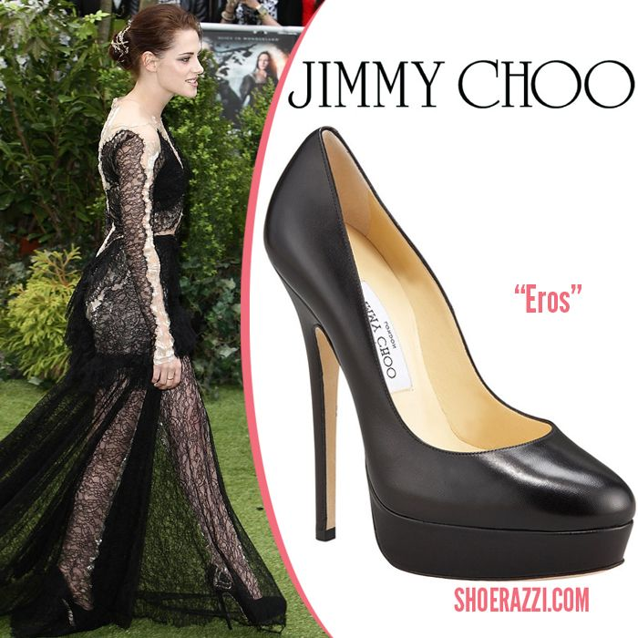 Miss Stewart with her Jimmy Choo's