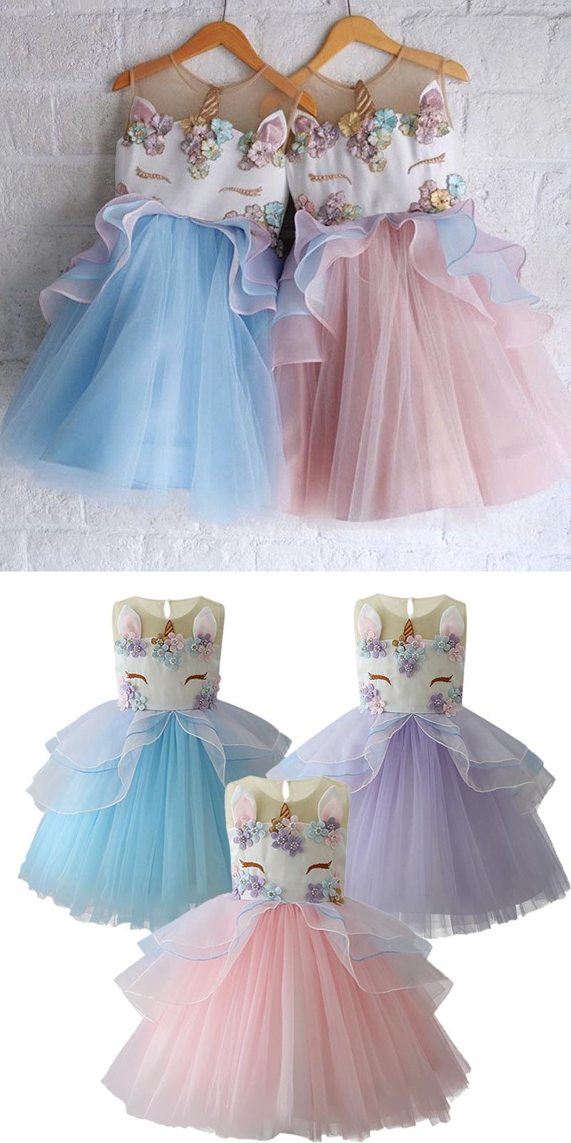 dd7f54d77 Original Unicorn Birthday Dress. Original Unicorn Birthday Dress Bday Girl,  1st Birthday Girls ...