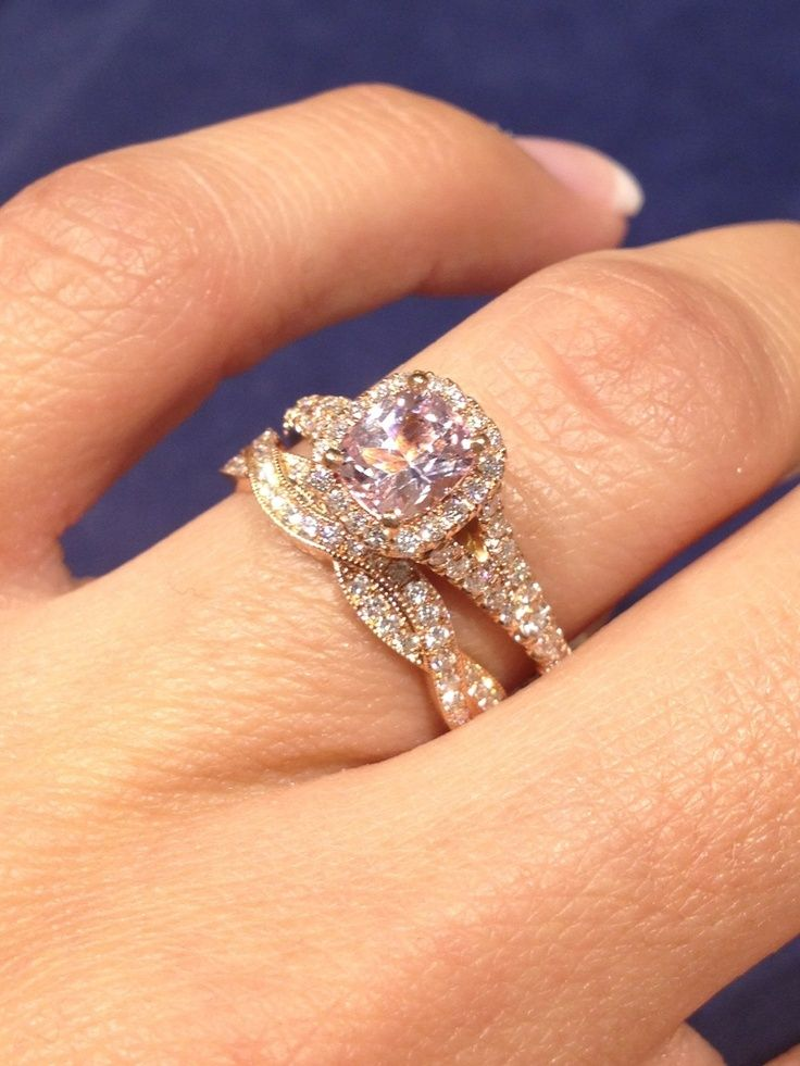 Gem Stone King 10K White Gold Pave Diamond Engagement Solitaire Ring