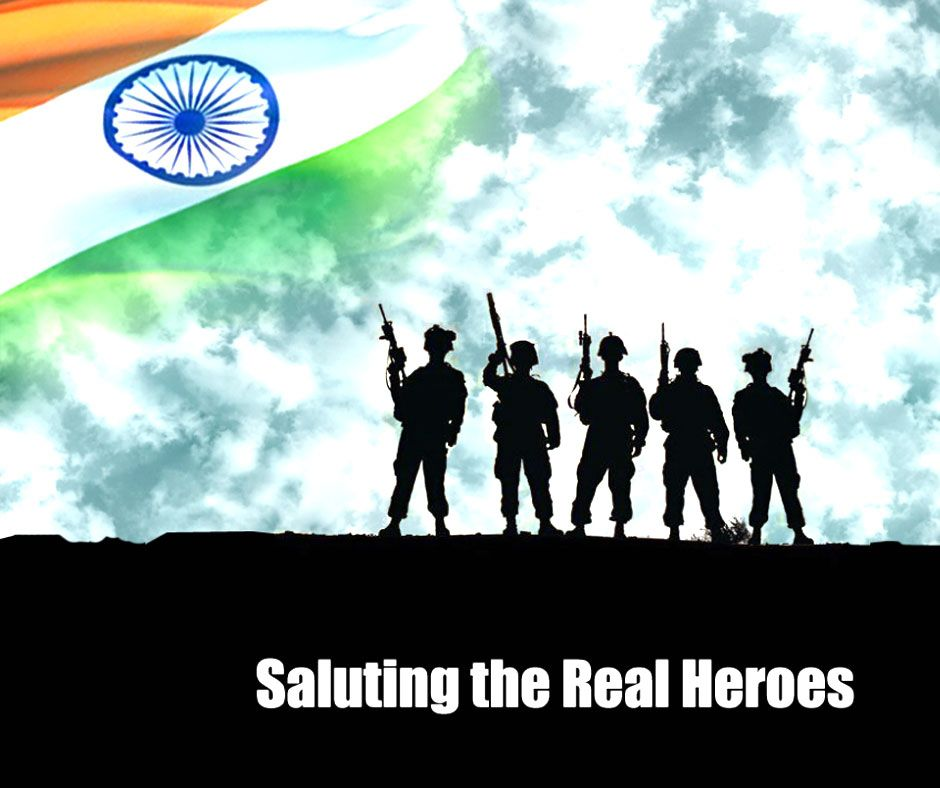 Why Not Remember Our Indianarmy Everyday Lets Take A Pledge To Salute Them Daily Army Day Independence Day Images Army Images