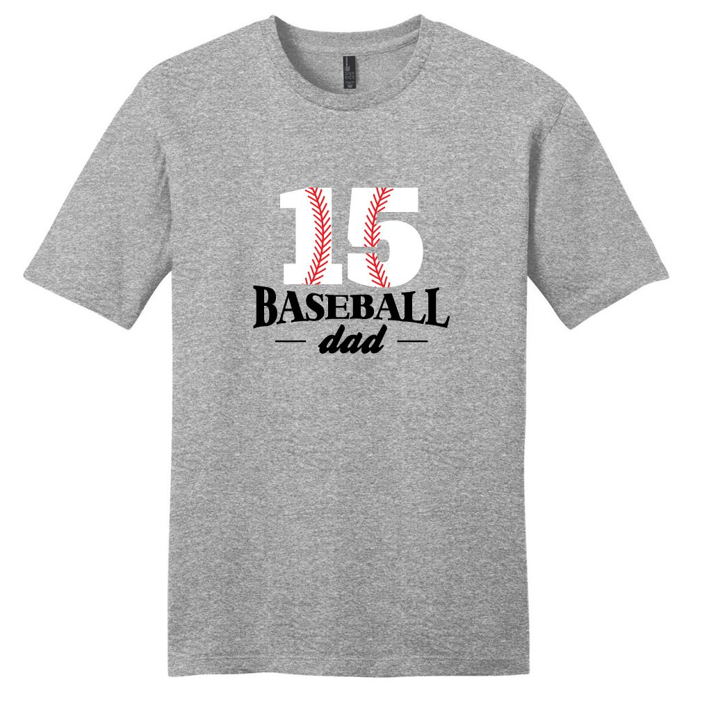 3a42b5c13 Custom Baseball Dad T-Shirt For Men | T-Shirts | Monogram t shirts ...