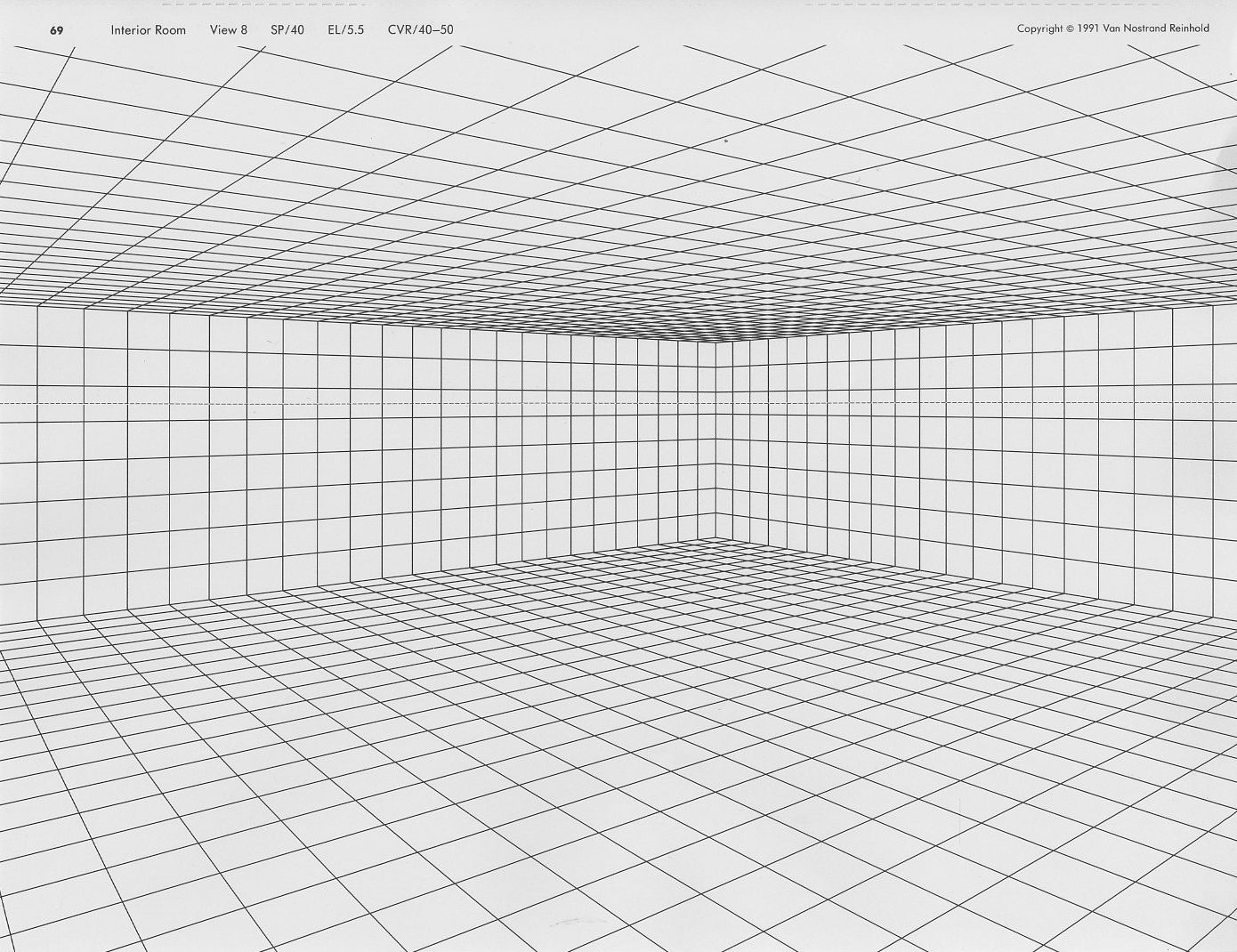 Perspective Grid Meant For Interiors But Use As Needed