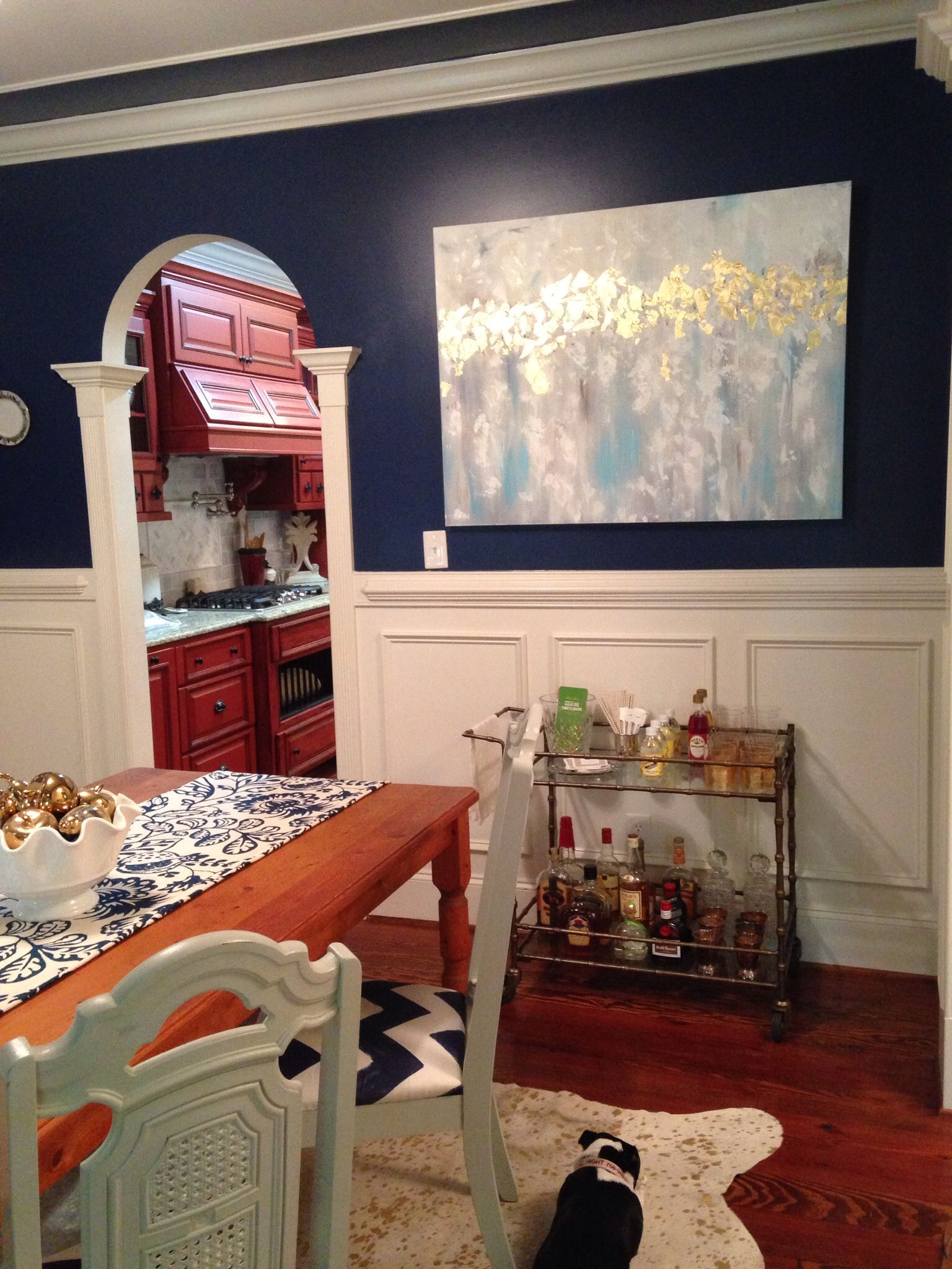 My New Dining Room Abstract Painting By Olivia Myers