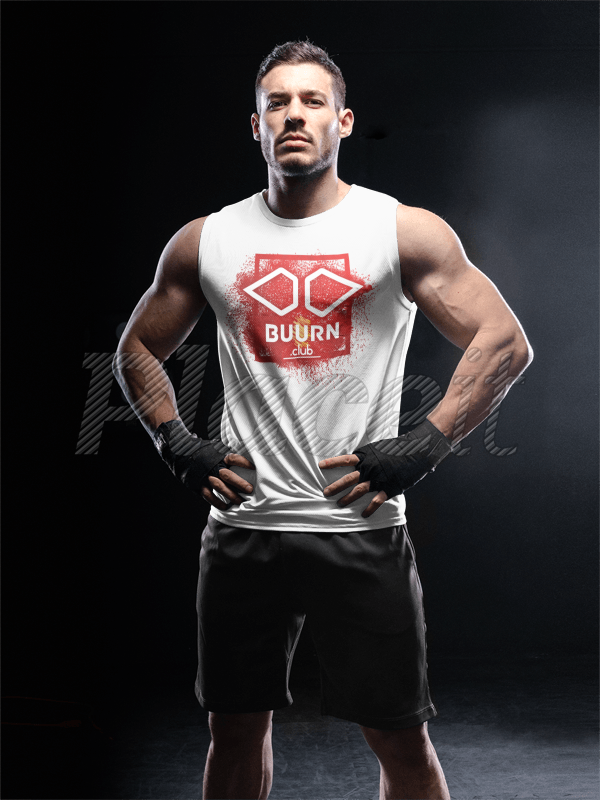 Download Placeit Portrait Of A Man Standing In The Dark While Wearing Custom Sportswear Mockup Custom Sportswear Man Standing How To Wear