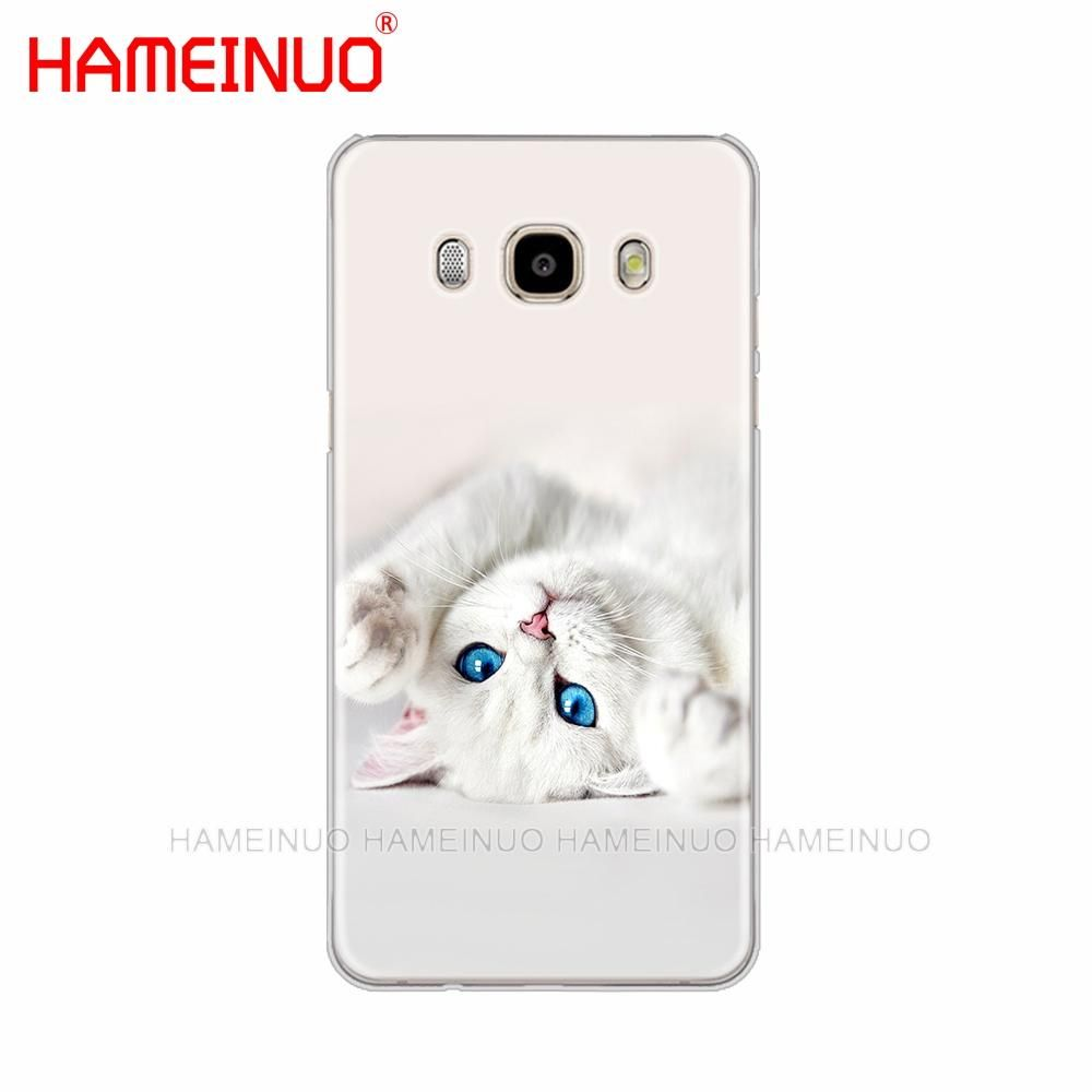 Cute Kitty Cover Phone Case For Samsung Galaxy J1 J2 J3 J5 J7 Mini Ace 2016 2015 Prime Cats Phone Case Phone Case Cover Phone Covers