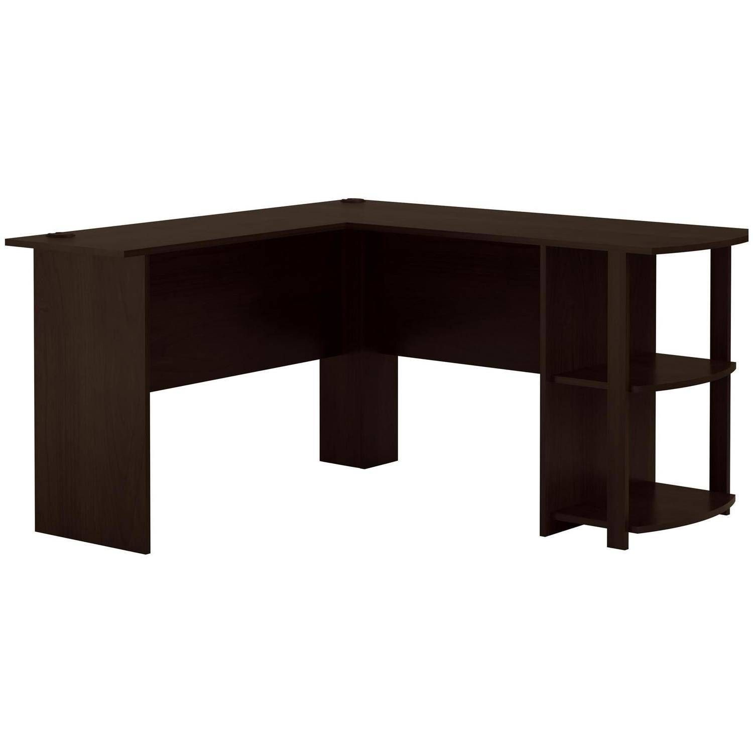 Ameriwood L Shaped Office Desk With Side Storage Russet Cherry Finish Walmart Com In 2020 L Shaped Office Desk Desk Office Desk