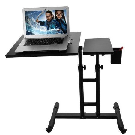 Height Adjustable New Standing Desk Sit To Stand Riser Converter 18 9 Inch Tabletop Workstation Fits Laptop Black Products Sit To Stand Desk Drafting