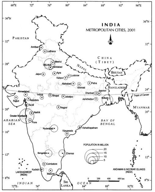 CBSE Sample Papers for Class 12 Geography Paper 2