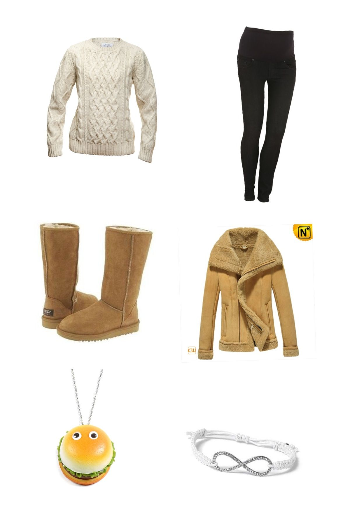 A cute, cozy and stylish outfit for the winter.