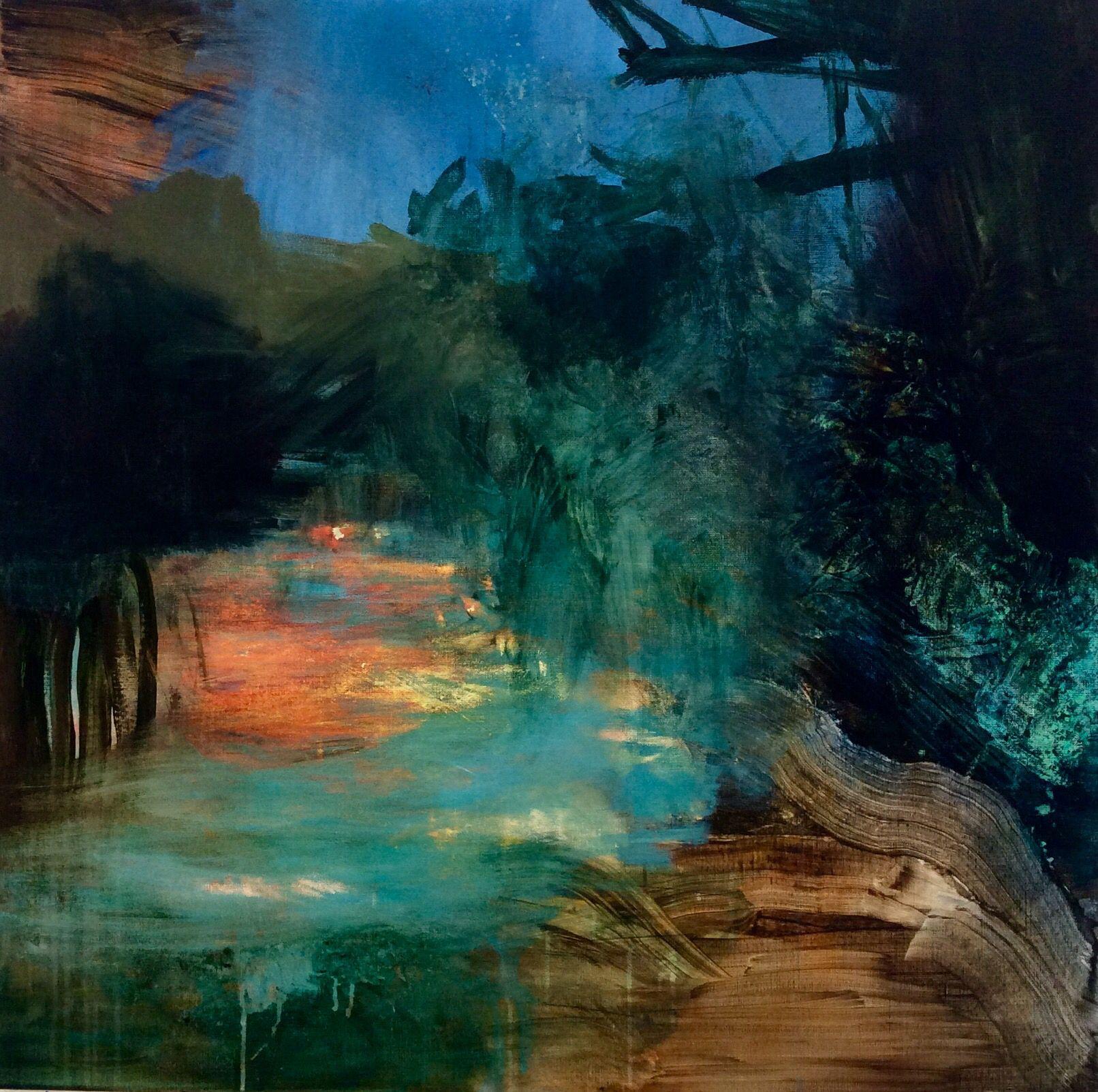""" The Journey "" Acrylic , Bjørnar Aaslund. 2016"
