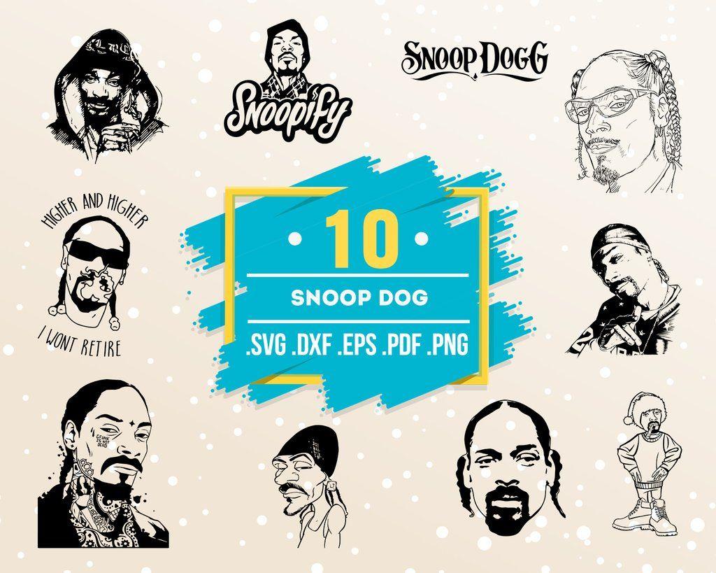 Eminem Tupac Snoop Dogg Nate Dogg Ice Cube Dr Dre Eazy E Rap Artists SilhouetteStencil Bundle Biggie Smalls Old Dirty Bastard