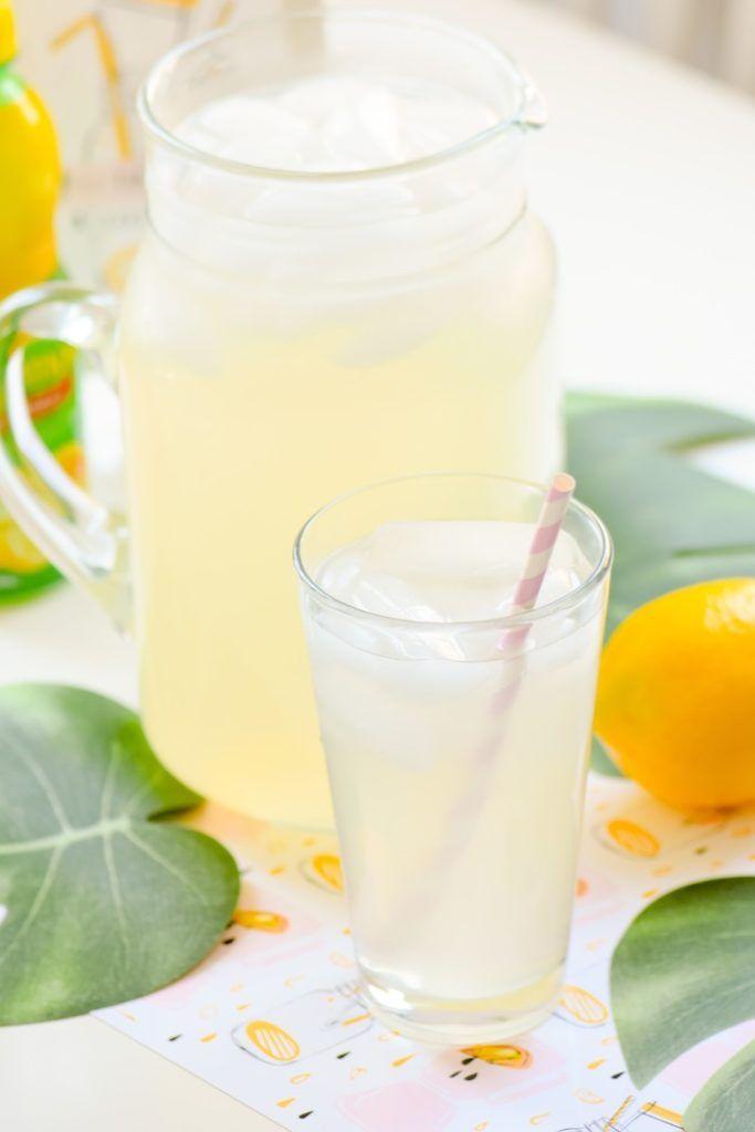 Easy Homemade Lemonade Recipe | Kara's Party Ideas