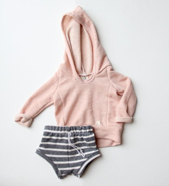 Solid Beach Hoodie Handmade Baby Toddler Custom Order Size And