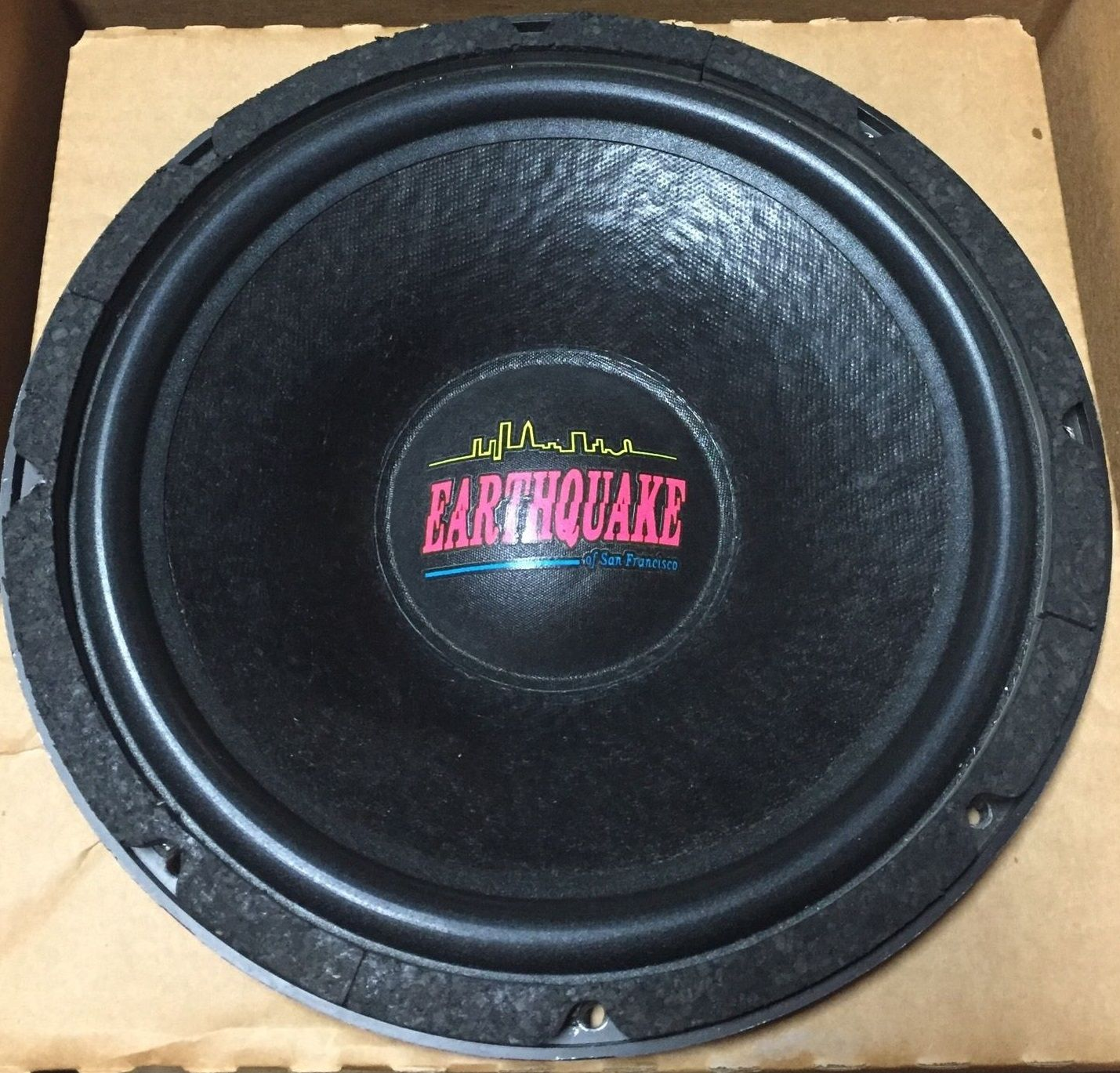 12-Inch Earthquake Subwoofers