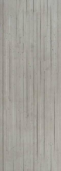 Panneau mural en béton - Lames bois verticales Materialidad - paredes de cemento