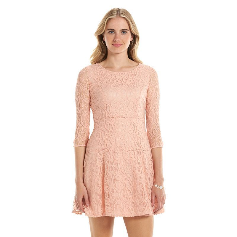 3f9cd9364f1 Women s LC Lauren Conrad Lace Fit   Flare Dress