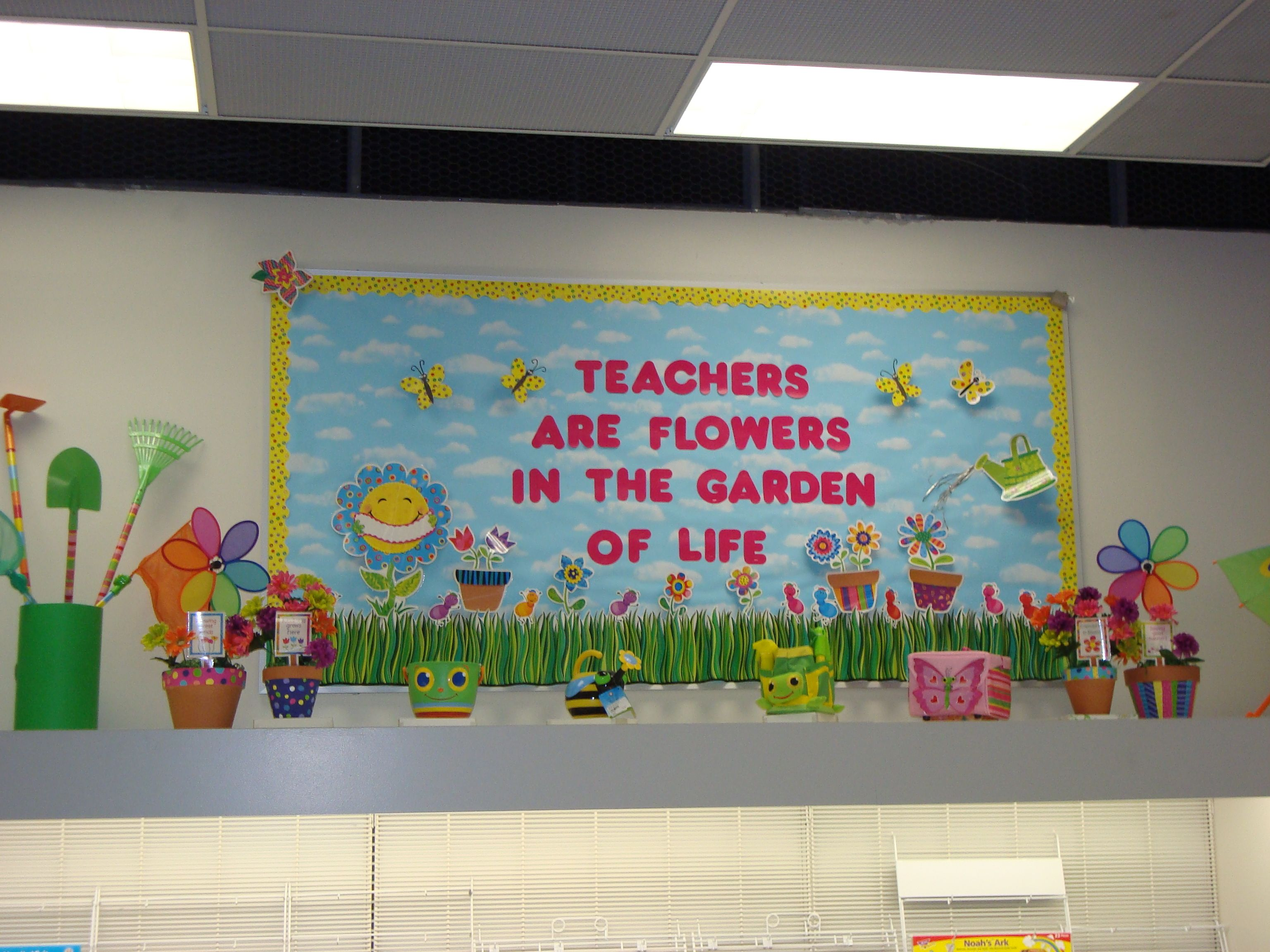 Spring is right around the corner Make your classroom look great
