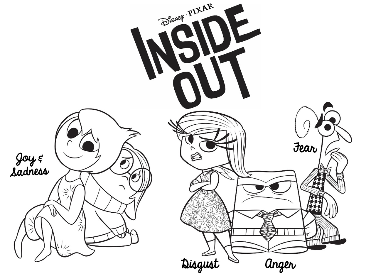 Fre Inside Out Coloring Pages Yahoo Image Search Results
