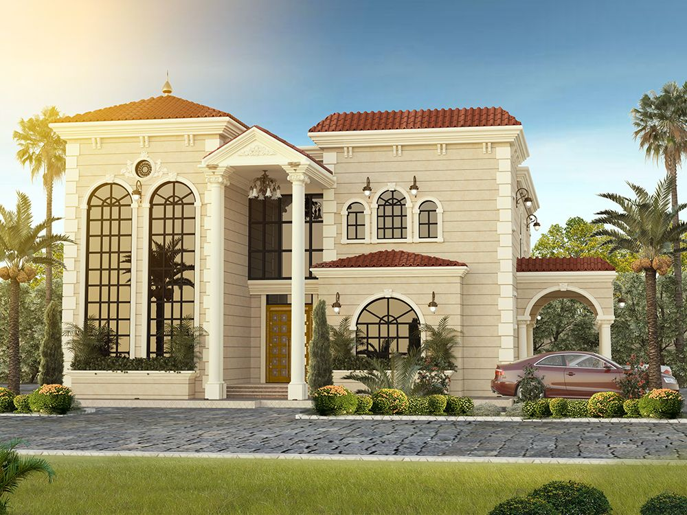 Residential Villas With Images House Plans Mansion