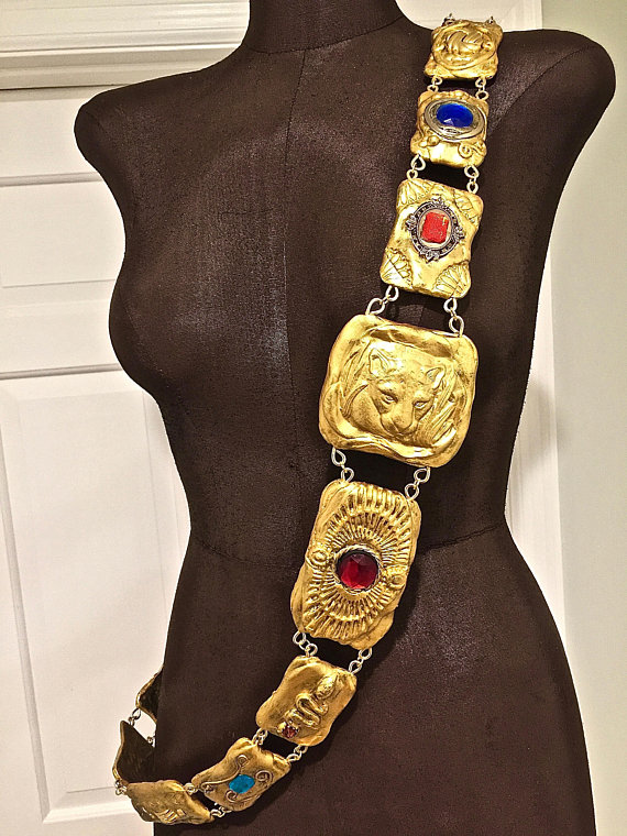 Coming To America. Made To Order. Royal Sash For Men