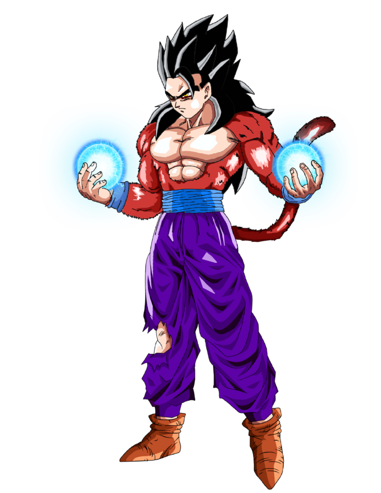 Image result for gohan ssj 4 anime pinterest dragon - Son gohan super saiyan 4 ...