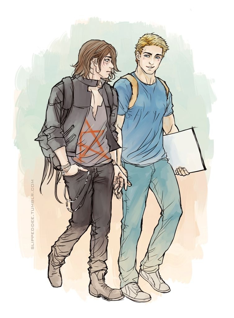 Steve/Bucky - Highschool AU inspired by morgan-leigh's gorgeous