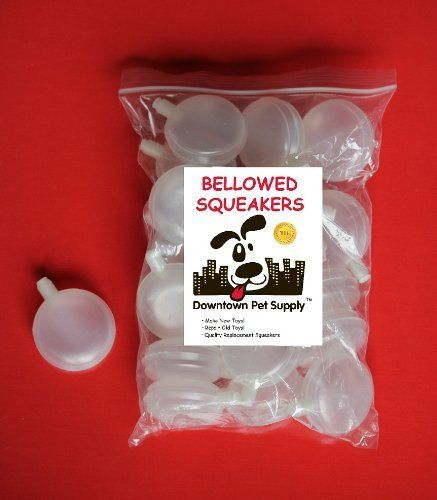 60 Replacement Squeakers, Medium, Accordian style, by Downtown Pet Supply by Pet Supply City, LLC, http://www.amazon.com/dp/B003DRQGF0/ref=cm_sw_r_pi_dp_97GZsb0N8DKJVBK1