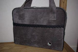 Housse d 39 ordinateur portable ou pas mais avec tuto par so 39 home made sac pinterest - Tuto sac ordinateur portable ...