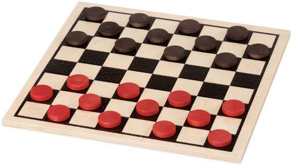 Checkers Basic Set Checkers Board Game Play Checkers Classic Board Games
