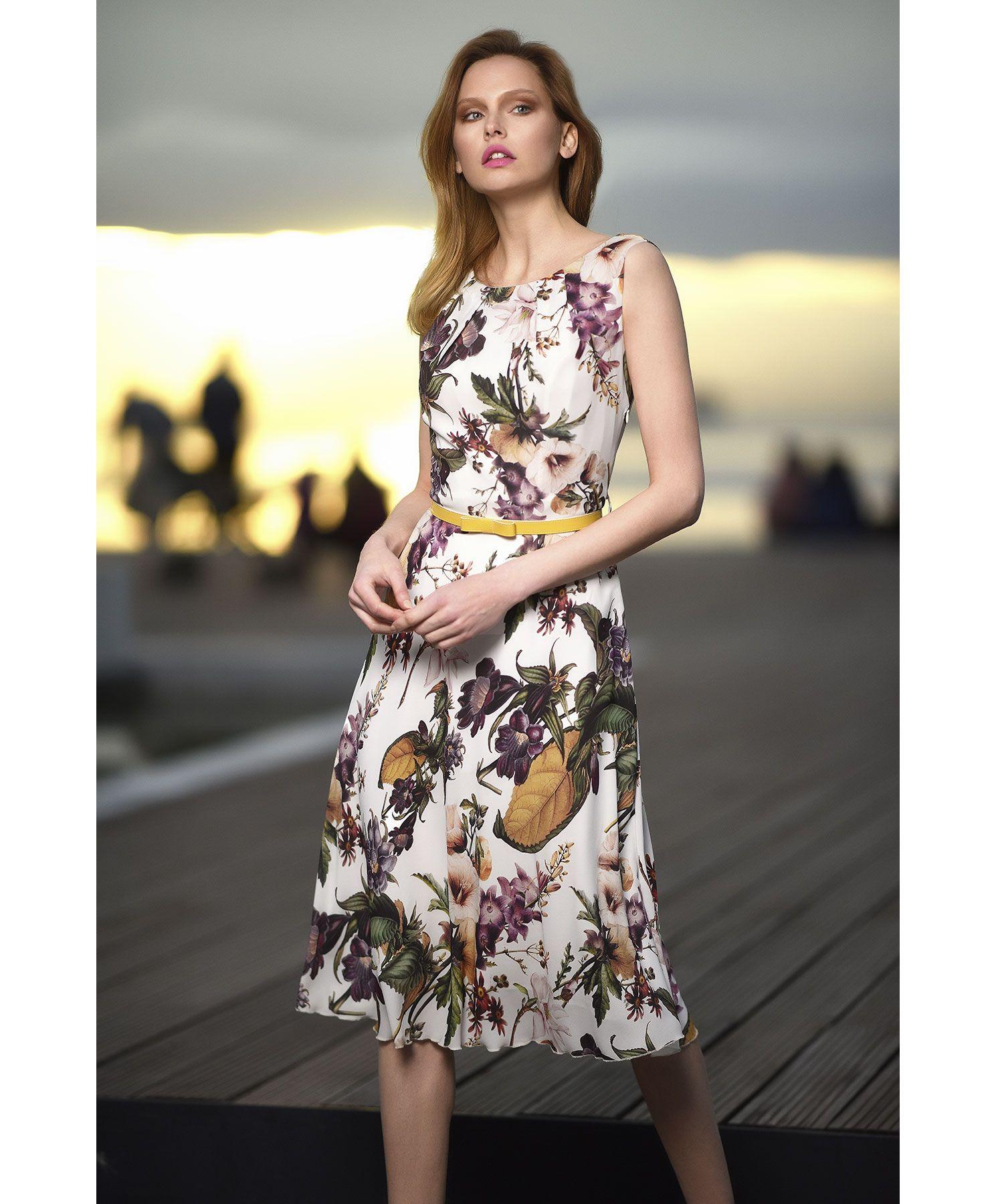 a931ae030511 Φόρεμα φλοράλ μουσελίνα