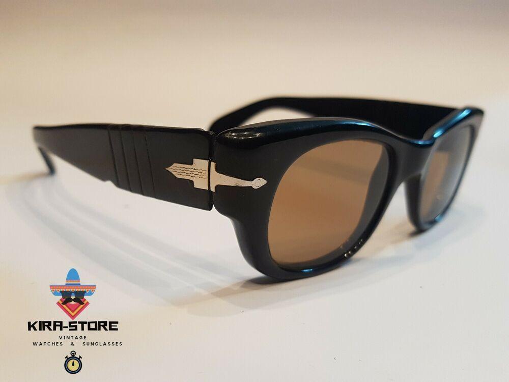 75f3bdaee3f10 Nos 60 s PERSOL RATTI 62   Meflecto Sunglasses Massive Vintage Frame  Eyeglasse  PERSOL  Vintage