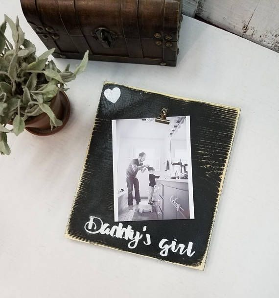 Daddy\'s Girl gift for dad, Fathers Day picture frame,Daddy\'s little ...
