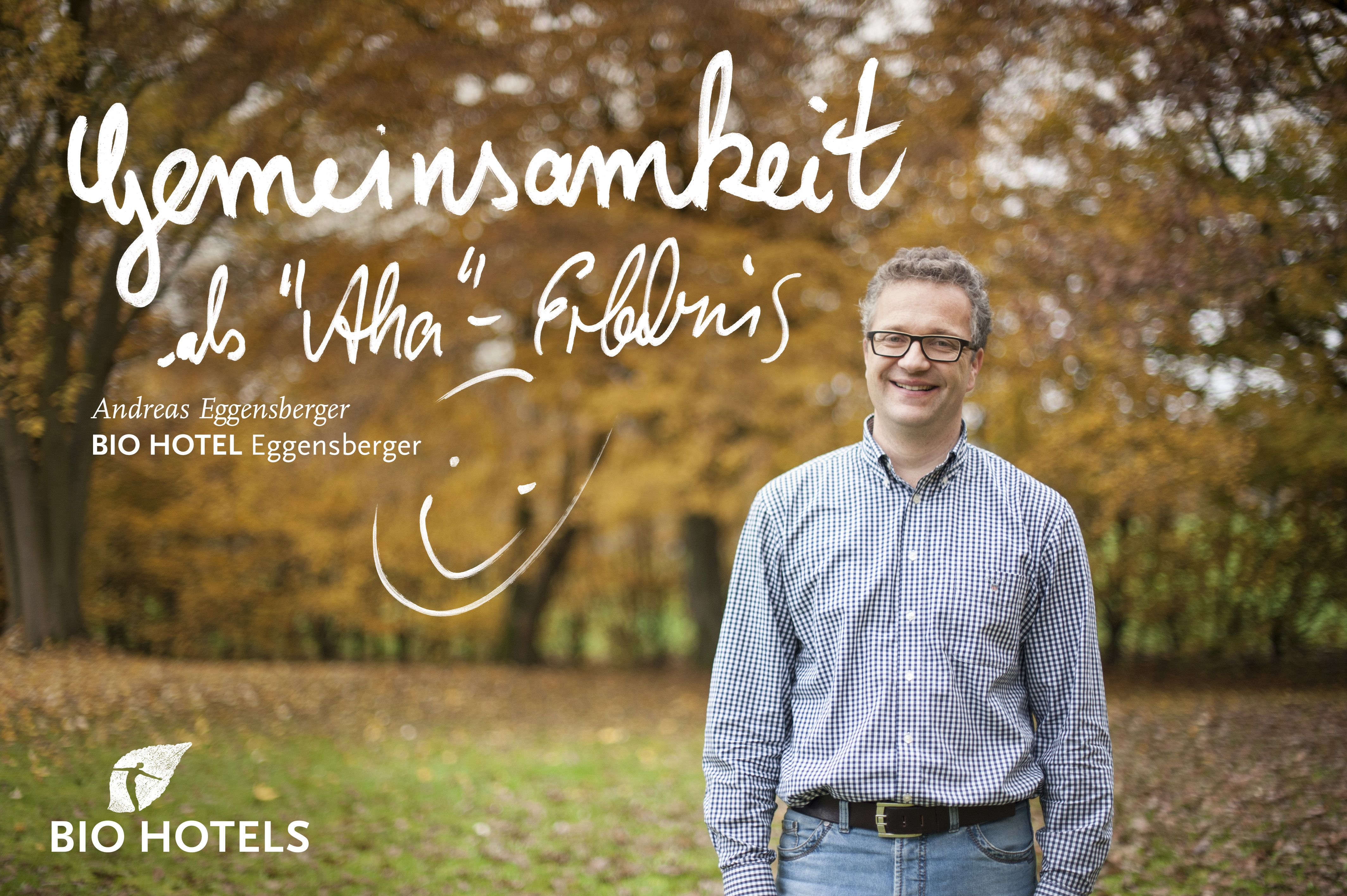 BIO HOTELIER Andreas Eggensberger von #Biohotel Eggensberger - med. well. **** in Hopfen/See im #Allgäu #Bayern