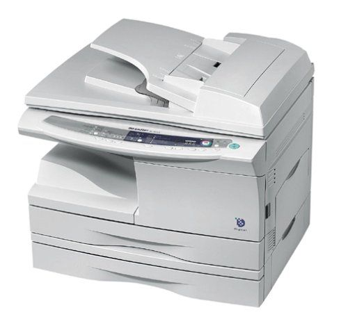 Sharp Al 1551cs Laser Printer Copier And Scanner Printer