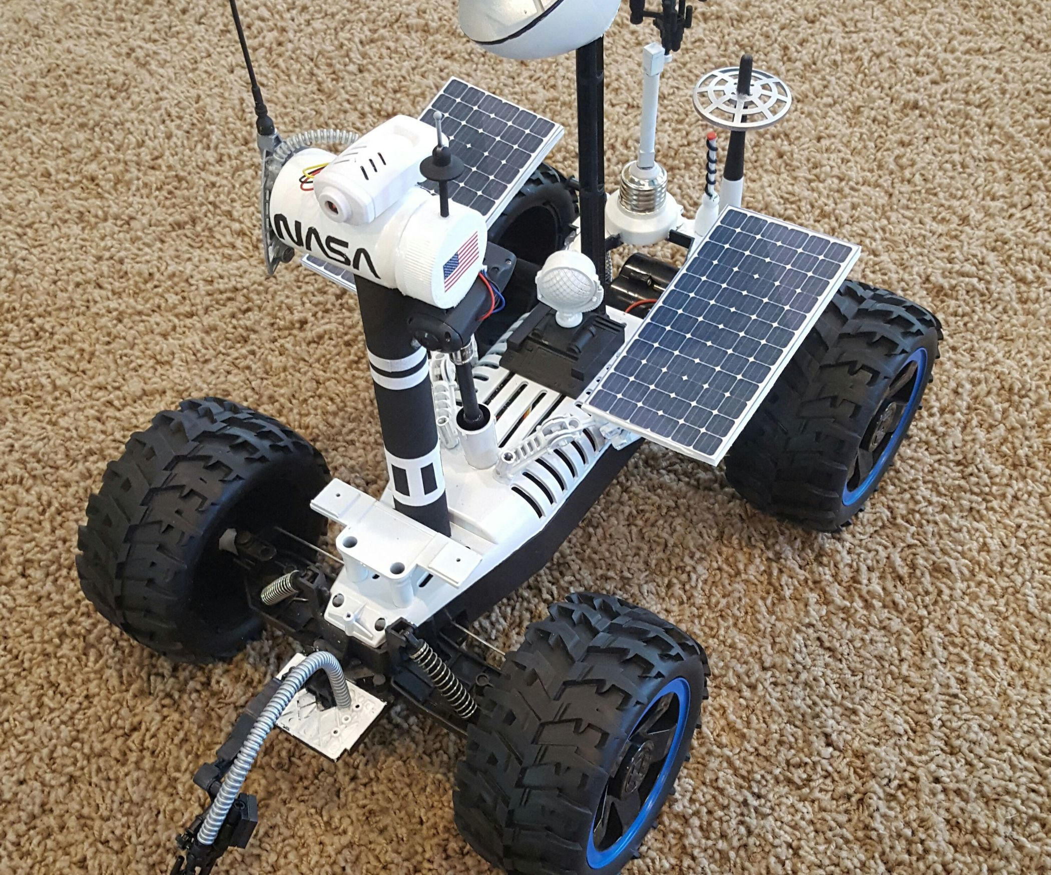 Remote Controlled Mars Rover W/ Android App Android apps