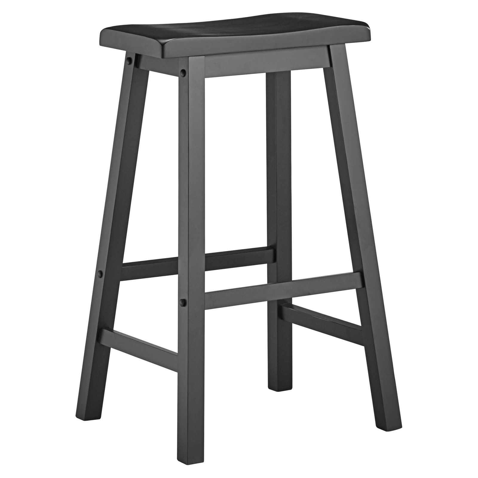 Weston Home 29 In Saddleback Stool Set Of 2 With Images Bar Stools