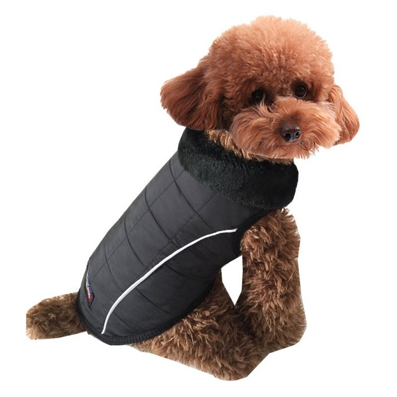 2016 New Autumn And Winter Dog Clothes For Pet Coat Jacket Dogs Vest