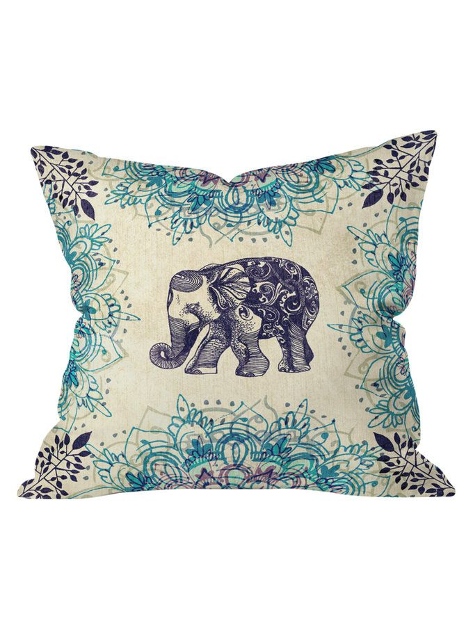 Wild Heart Throw Pillow from Hip to Be Square: Our Coolest Dec Pillows on Gilt