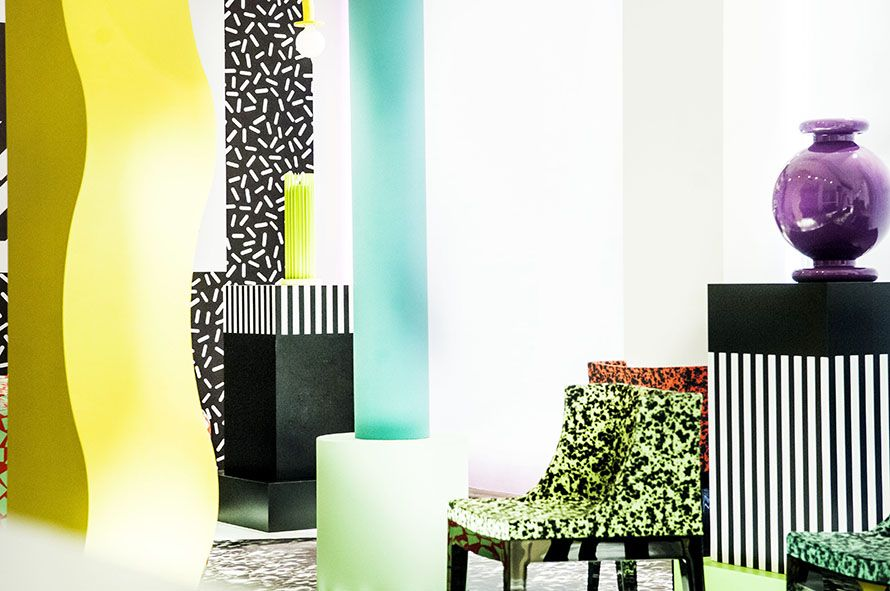 Kartell Goes Sottsass A Tribute To Memphis
