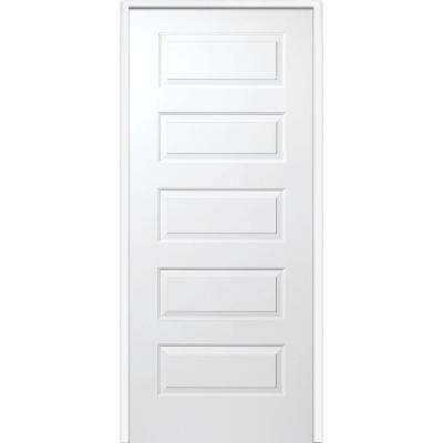 Mmi Door 32 In X 80 In Rockport Left Hand Primed Composite 20 Min Fire Rated House To Garage Single Prehung Interior Door Z020495l The Home Depot Prehung Interior Doors Doors Interior Solid Core Interior