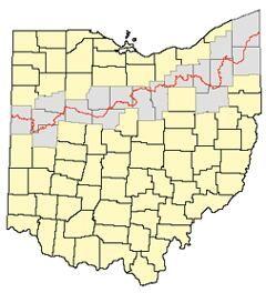 Betsy Kling On Twitter Ohio Map Ohio History Erie County