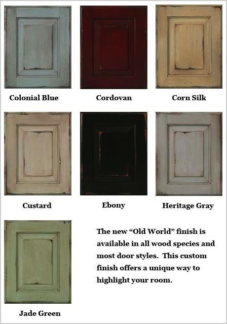 Distressed Green Kitchen Cabinets sherwin-williams glazing techniques |  glazing wearing dry