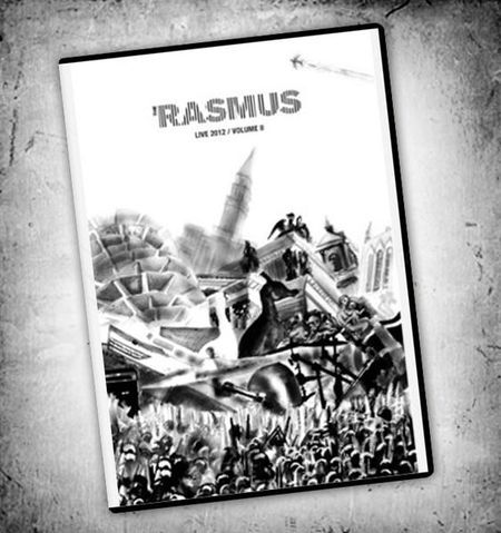 The Rasmus Live 2012 DVD, signed by all the band members, DVD