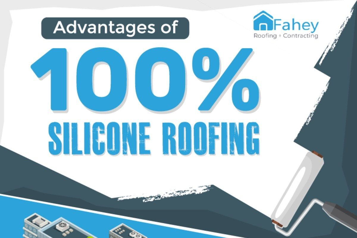Advantages Of 100 Silicone Roofing Infographic 2020 A Nest With A Yard Roofing Counter Decor Improvement Books