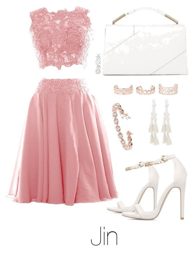 Bts prom - Jin  by ari2sk on Polyvore featuring polyvore, fashion, style, Jason Wu, Bebe, Allurez, New Look and clothing