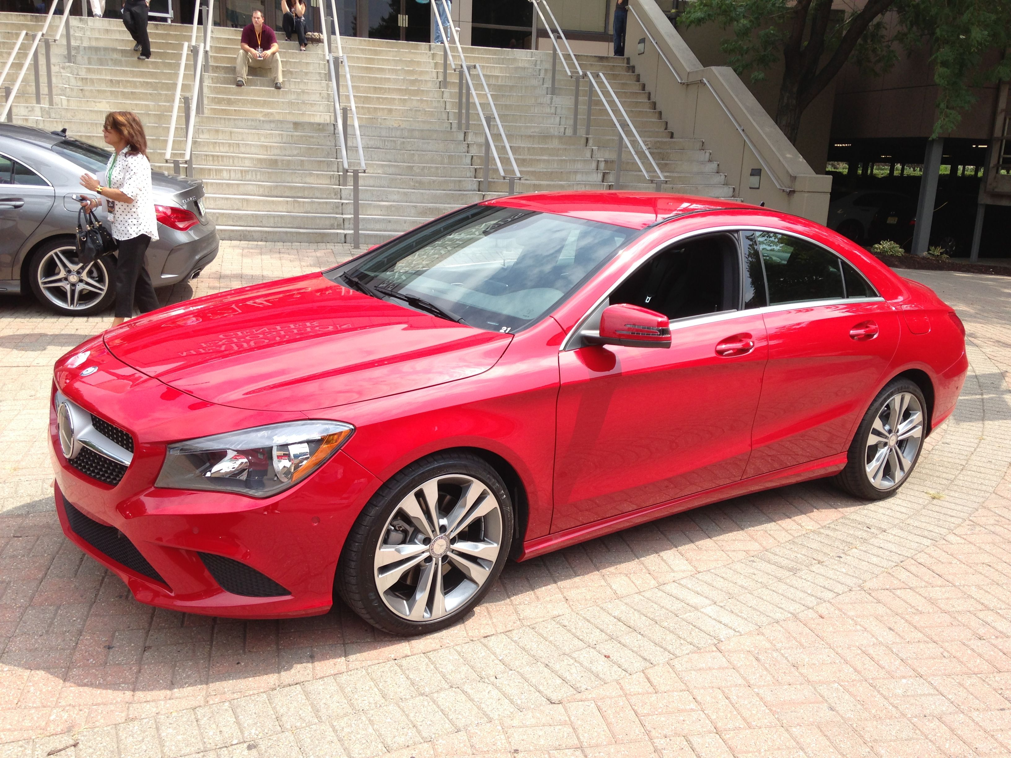 2014 mercedes benz cla 250 in jupiter red 2014 mercedes