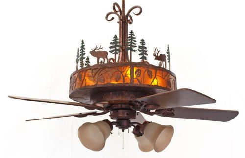 Cedarcrest ceiling fan · rustic ceiling fansin
