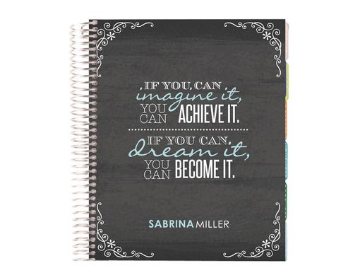 2014-2015 life planner -imagine dream become  #eclifeplanner14