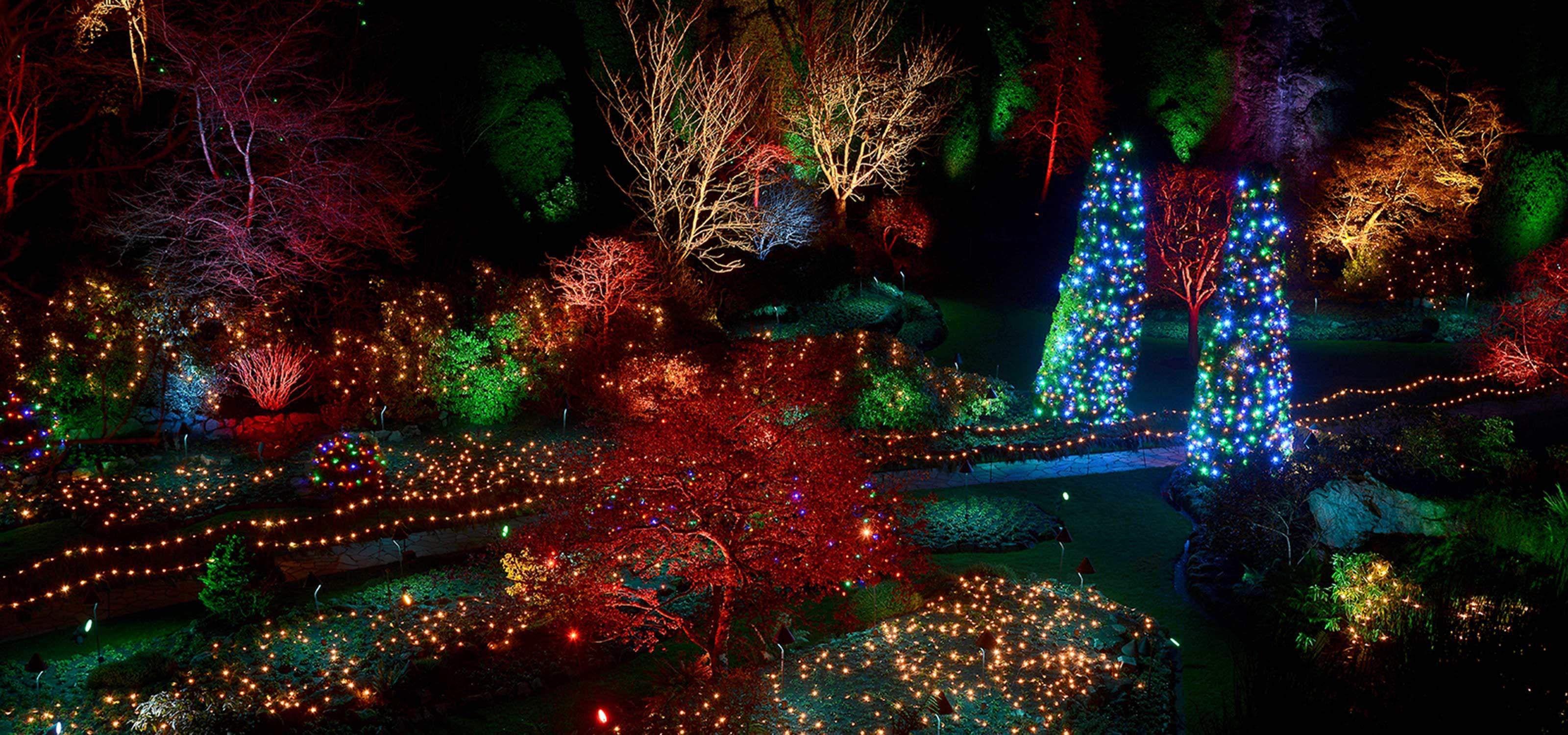 711576aa02918281349223047b72add7 - The Butchart Gardens Christmas Lights Tour